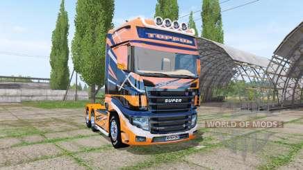 Scania R700 Evo TOPRUN para Farming Simulator 2017