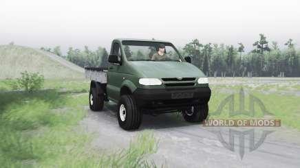 UAZ 2365 para Spin Tires