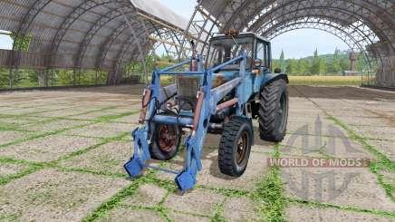MTZ 80 Belarús loader v1.1 para Farming Simulator 2017