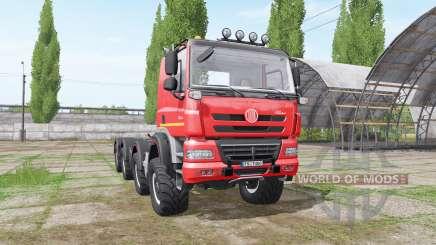 Tatra Phoenix T158 8x8-6 hooklift para Farming Simulator 2017