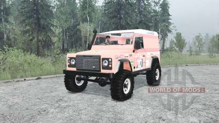 Land Rover Defender 90 Hard Top para MudRunner