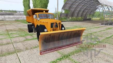 Magirus-Deutz 200 D 26 1964 schneepflug para Farming Simulator 2017