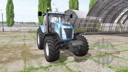 New Holland TG255 v4.0 para Farming Simulator 2017