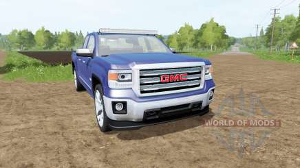 GMC Sierra 1500 Double Cab (GMTK2) para Farming Simulator 2017