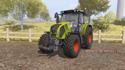 CLAAS Axion 850 v2.1 para Farming Simulator 2013