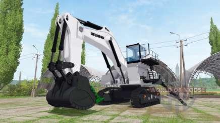 Liebherr R 9200 backhoe attachment para Farming Simulator 2017