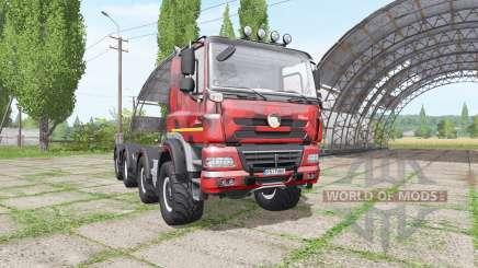 Tatra Phoenix T158 8x8-6 hooklift camo para Farming Simulator 2017