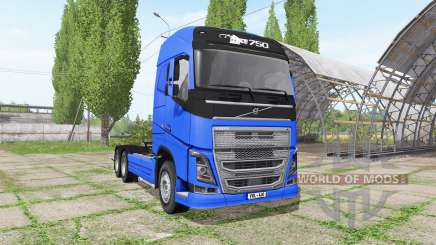 Volvo FH16 6x6 v1.2 para Farming Simulator 2017