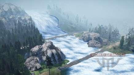Cascada para MudRunner