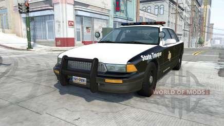 Gavril Grand Marshall texas highway patrol para BeamNG Drive