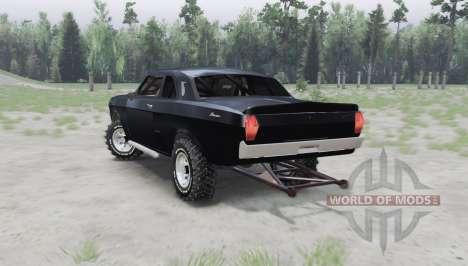 GAZ 24 Volga coupe para Spin Tires
