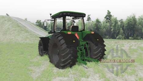 John Deere 8370R para Spin Tires