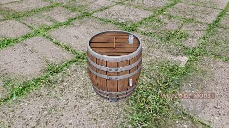 Barrel weight para Farming Simulator 2017