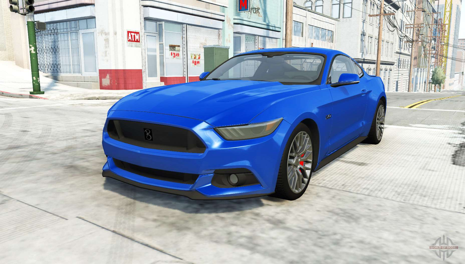 ford mustang gt 2015 para beamng drive. Black Bedroom Furniture Sets. Home Design Ideas