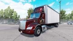 Peterbilt 579 box truck para American Truck Simulator