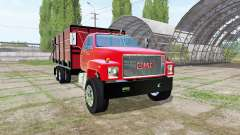 GMC C7500 dump truck