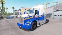 La piel CAJERO automático en el camión Kenworth