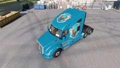 Pieles de Hogwarts Casas para el tractor Kenworth T680 para American Truck Simulator