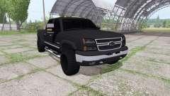 Chevrolet Silverado 2500 HD Crew Cab para Farming Simulator 2017