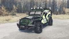 Jeep Wrangler (JK) diesel para MudRunner