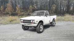 Datsun 510 pickup para MudRunner