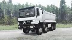 Mercedes-Benz Actros 4141 (MP2) para MudRunner