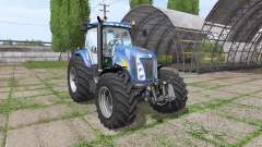 New Holland TG285 v1.0.1 para Farming Simulator 2017