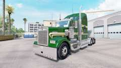 La piel Verde de Oro en el camión Kenworth W900