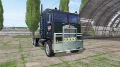 Kenworth K100 CabOver Caterpillar para Farming Simulator 2017
