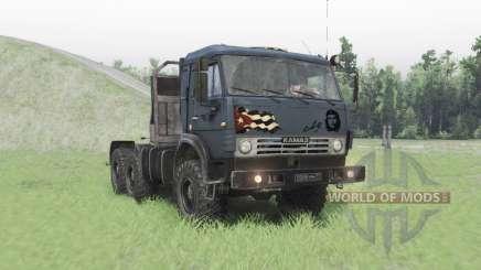 KamAZ-53504 para Spin Tires
