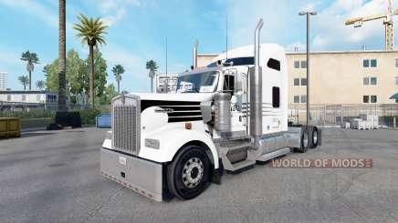 La piel Caza de Camiones para camiones Kenworth W900 para American Truck Simulator