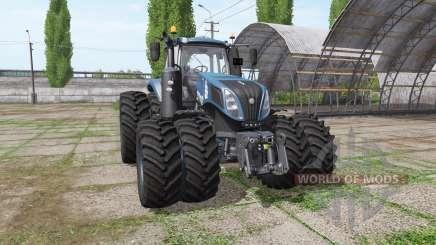 New Holland T8.435 tuning v1.2 para Farming Simulator 2017