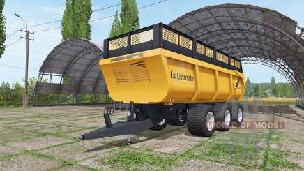 La Littorale C 390 v1.1 para Farming Simulator 2017