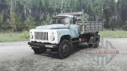 GAZ 53 para MudRunner