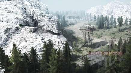 En virtud del local acantilados 3 para MudRunner