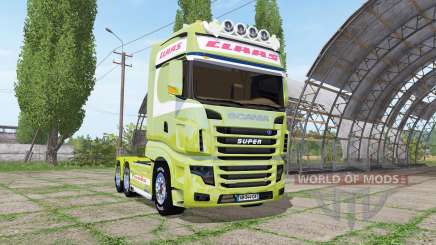 Scania R700 Evo CLAAS para Farming Simulator 2017