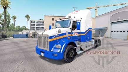 La piel CAJERO automático en el camión Kenworth T800 para American Truck Simulator