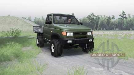 UAZ 2360 para Spin Tires