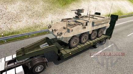 Military cargo pack v2.2.1 para Euro Truck Simulator 2