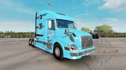 La piel TFX Internacional para el camión de Volvo VNL 780 para American Truck Simulator