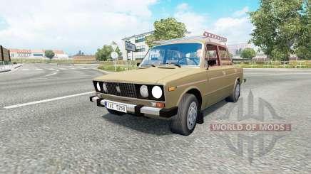Russian traffic pack v1.7.1 para Euro Truck Simulator 2