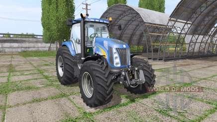 New Holland TG285 v1.0.1 para Farming Simulator 2017
