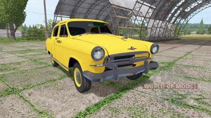 GAZ 21 Volga taxi para Farming Simulator 2017