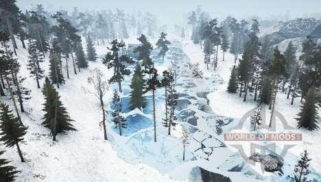 Invierno-Siberia v1.1 para Spintires MudRunner