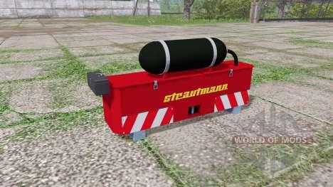 Strautmann weight para Farming Simulator 2017