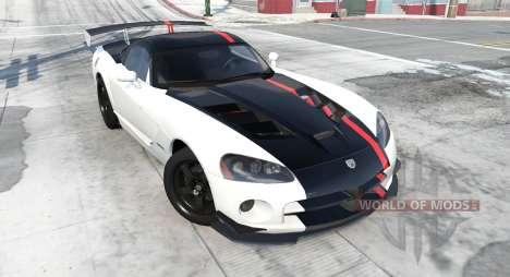 Dodge Viper SRT10 ACR 2010 para BeamNG Drive