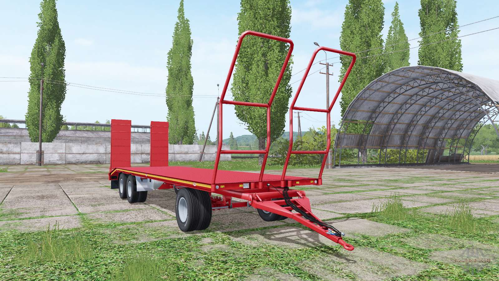 Rimorchi randazzo pa 97 i v1 0 0 3 para farming simulator 2017 for Rimorchi randazzo