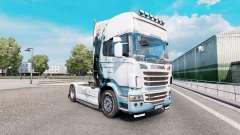 Final Fantasy de la piel para el camión Scania R