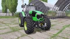 Deutz-Fahr Agrotron 9340 TTV green design v1.1 para Farming Simulator 2017