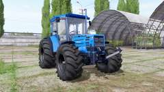 Hurlimann H-488 big wheels para Farming Simulator 2017
